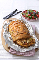 Stuffed-tomato-and-Mushroom-Braai-Bread